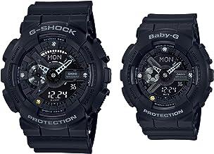 [カシオ] 腕時計 ジーショック G PRESENTS LOVER'S COLLECTION 2018 G-SHOCK × BABY-G ペア セット LOV-18C-1AJR ブラック