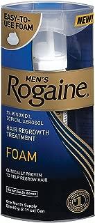 Men's Rogaine Hair Regrowth Treatment Foam, 1 Month Supply, 2 pk