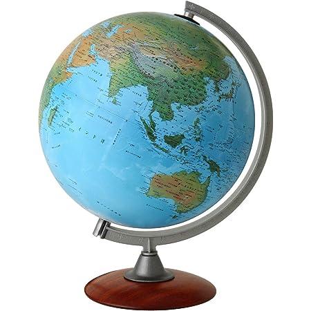 ORBYS 地球儀 スペース30 球径30cm 地勢図 43200