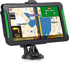 GPS Navigation for Cars, 7-inch Portable Car GPS Navigation System, Built-in 8GB-256MB Real Voice Turn Alarm Satellite Nav...