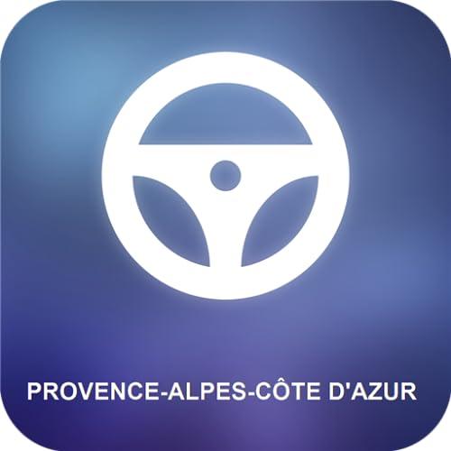 Provence-Alpes-Côte d'Azur GPS