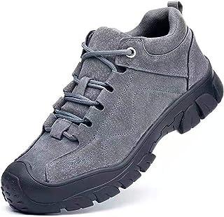R-Win Chaussures de sécurité tendance pour homme avec embout en acier - Chaussures de travail imperméables - Unisexe - Ant...
