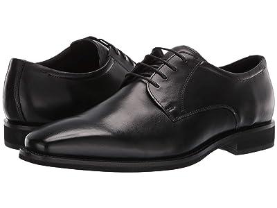 ECCO Calcan Plain Toe Tie (Black) Men