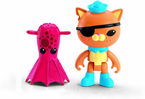 FISHER PRICE Octonauts Figure & Creature Pack Kwazii & the Vampire Squid