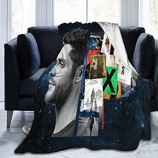 YANGZTING Thomas Rhett Life Changes Digital Printed Ultra-Soft Micro Fleece Blanket Soft Warm (50 X40 60