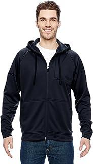 Dickies Men's Tactical Full Zip Bonded Fleece Hoodie, Midnight, 2X