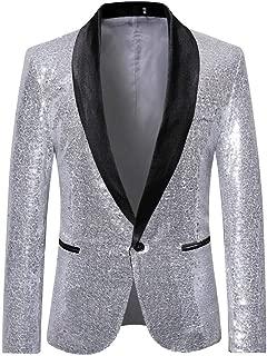 Men's Color Matching Thicken Rugged Men's Classic Wild Joker Suit Jacket