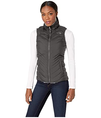 The North Face Mossbud Insulated Reversible Vest (Asphalt Grey/Mid Grey) Women