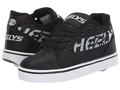 Heelys Vopel (Little Kid/Big Kid/Adult) (Black/Light Grey) Boys Shoes