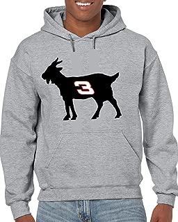 Gray Earnhardt Goat Hooded Sweatshirt