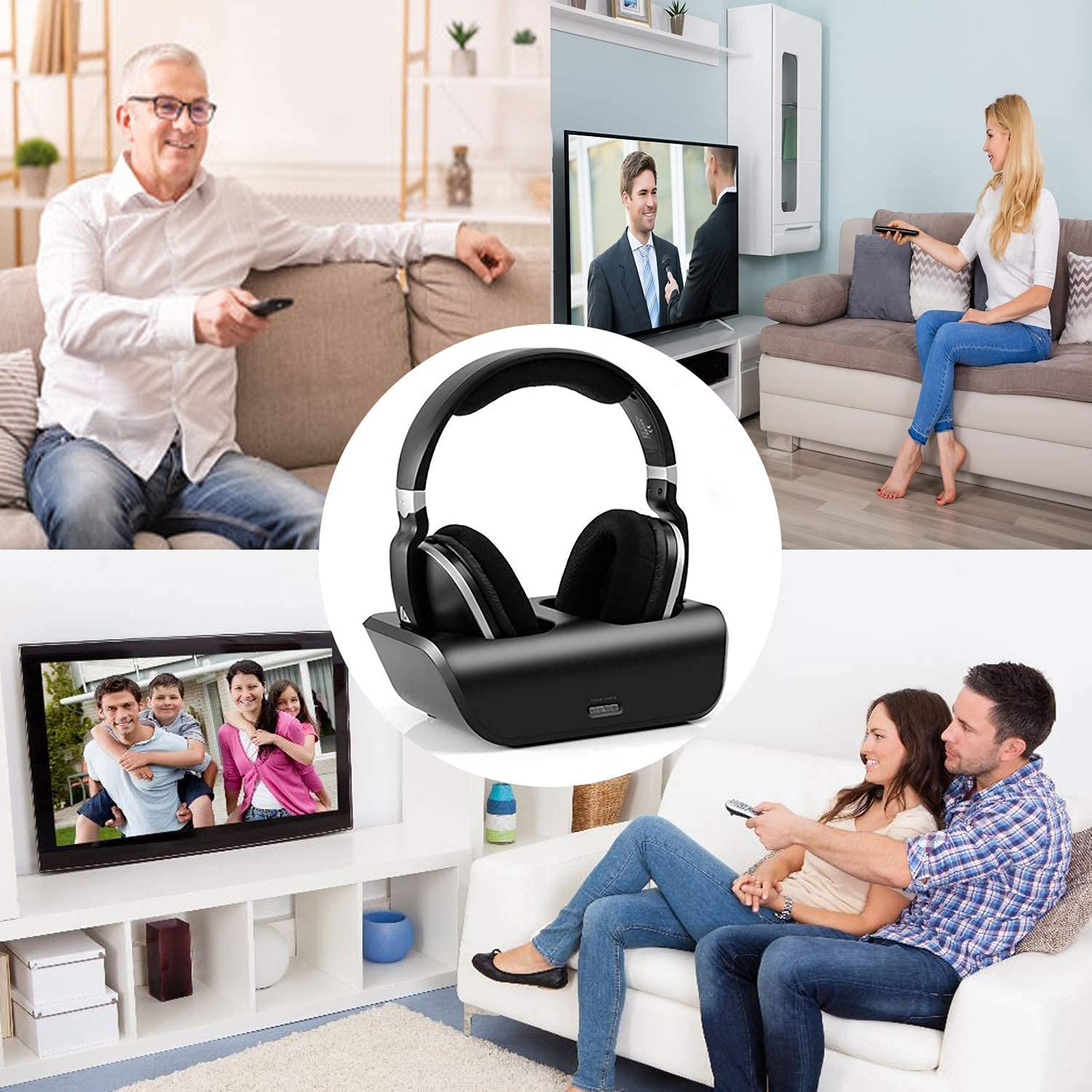 MONODEAL Over Ear Headsets