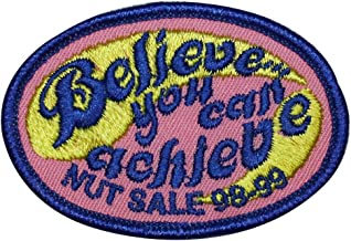 Scout Believe You Can Achieve Patch Nut Sale Badge Embroidered Iron On Applique
