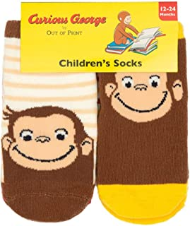 Out of Print Literary and Book-Themed Unisex Cotton Toddler Socks for Book Lovers, Readers, and Bibliophiles
