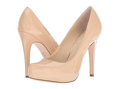 Jessica Simpson Parisah (Sand Dune Patent) High Heels