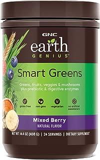 GNC Earth Genius Smart Greens, Mixed Berry, 24 Servings