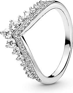 Princess Wish Sterling Silver Ring