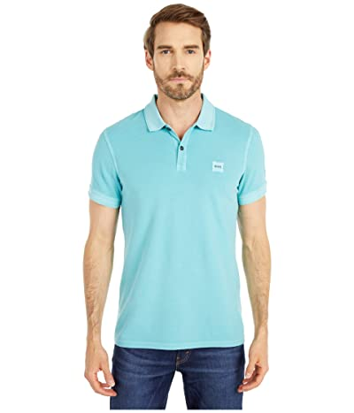 BOSS Hugo Boss Prime Polo (Turquoise/Aqua) Men
