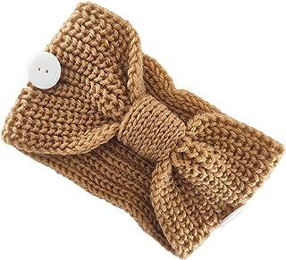 Beautiful crown Bandeau de Centre noué à nœud d'hiver avec boutons de protection de l'oreille Tête de protection solide Sp...