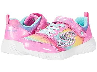 SKECHERS KIDS Sport Bobs Squad Spunky Steps 300019L (Little Kid/Big Kid) (Pink/Multi) Girl