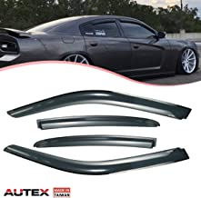 dodge charger side window louvers