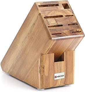 Wusthof Acacia 9-Slot Knife Storage Block