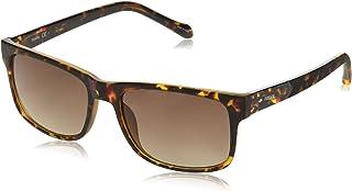 نظارة شمسية للرجال من فوسيل Fos3061s FOS3061S , (بني), 57 mm