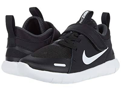 Nike Kids Flex Contact 4 (Infant/Toddler) (Black/White/Anthracite) Kid