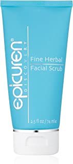 Epicuren Discovery Fine Herbal Facial Scrub Apricot, 2.5 Fl oz