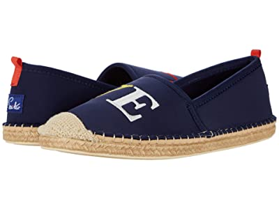 Sea Star Beachwear Beachcomber Espadrille Water Shoe (Dark Navy Love Embroidery) Women