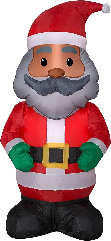 African American Charlotte Mall Ranking TOP17 Black Santa Christmas Inflata Yard and Holiday