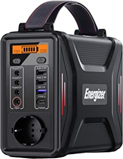 Energizer Portable Power Gnerator 240Wh (230V/200W), Pure Sine Wave LiFePO4 Battery Power Supply for Emergency Home Campin...