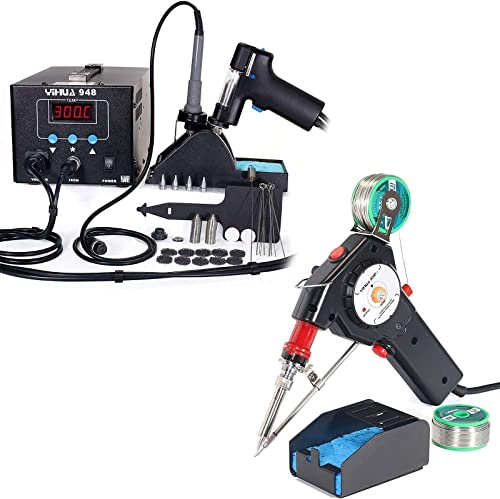 high quality YIHUA lowest 948 Desoldering discount & Soldering System Bundled with YIHUA 929D-I Auto-feed Soldering System (34 items) online