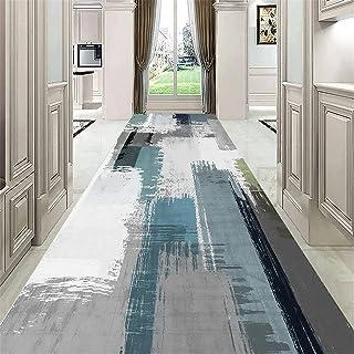 TONGQU Moderne Tapis de Passage, Antidérapant Lavable Polyester Longue Tapis de Couloir pour Salon/Cuisine/Chambre/Entrée,...