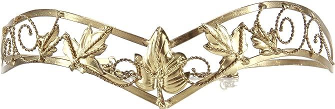 elope Antiqued Gold Leaf Circlet