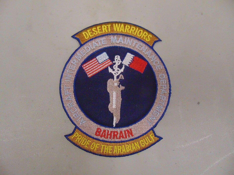 Patch Military Desert Warriors Virginia Beach Mall Maint DEPT 55% OFF Intermediate Aircraft