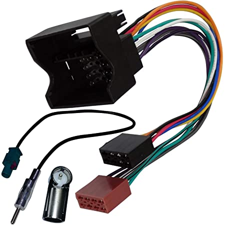 Adapter AERZETIX Fassade reduzierrahmen f/ür auto. 2 DIN C4640 autoradio