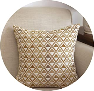 インド風アメリカンカントリーソファー枕/クッションカバー/ベッドオフィス枕いっぱい,50×35(芯なし),マヤ交響楽団 - ライトコーヒー