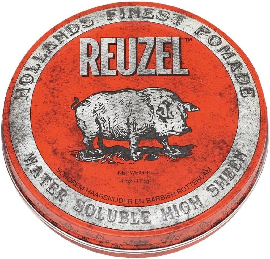 REUZEL Red Pomade Water Soluble High Sheen, 1 unidad (1 x 113 g)