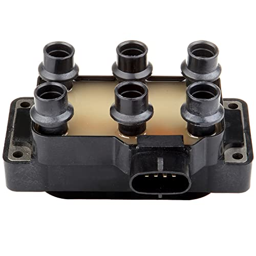 ECCPP Ignition Coil Pack of 1 Compatible with Ford Mustang/Ranger/Aerostar/Explorer