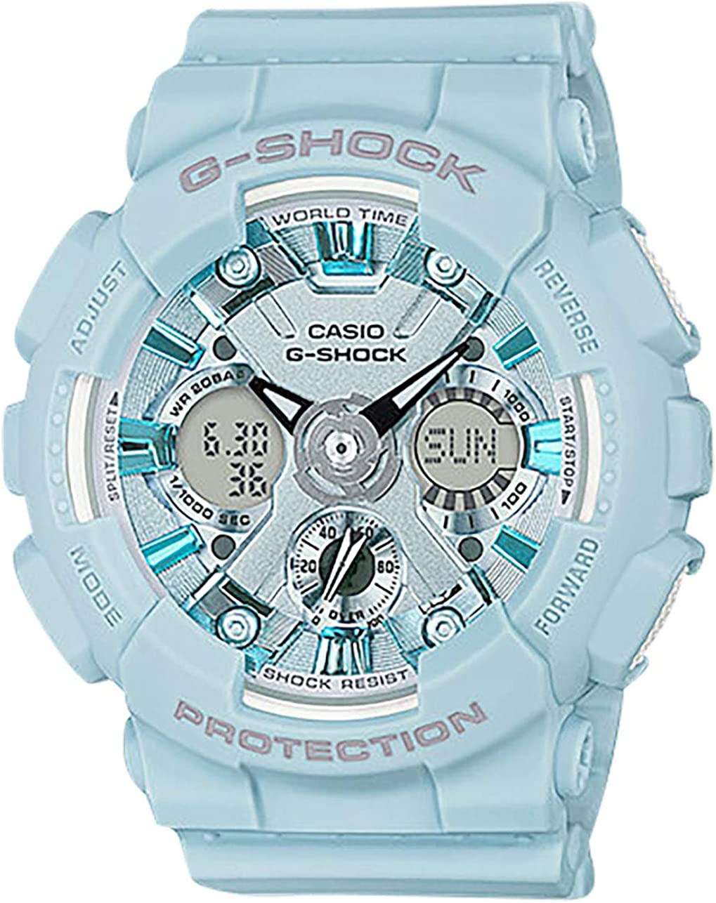 Casio G-Shock Ladies Watch GMAS120DP-2A