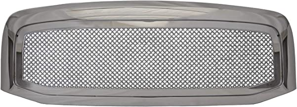 Paragon Front Grille for 2006-08 Dodge Ram 1500/2500/3500 - Chrome Grill Grilles with Mesh