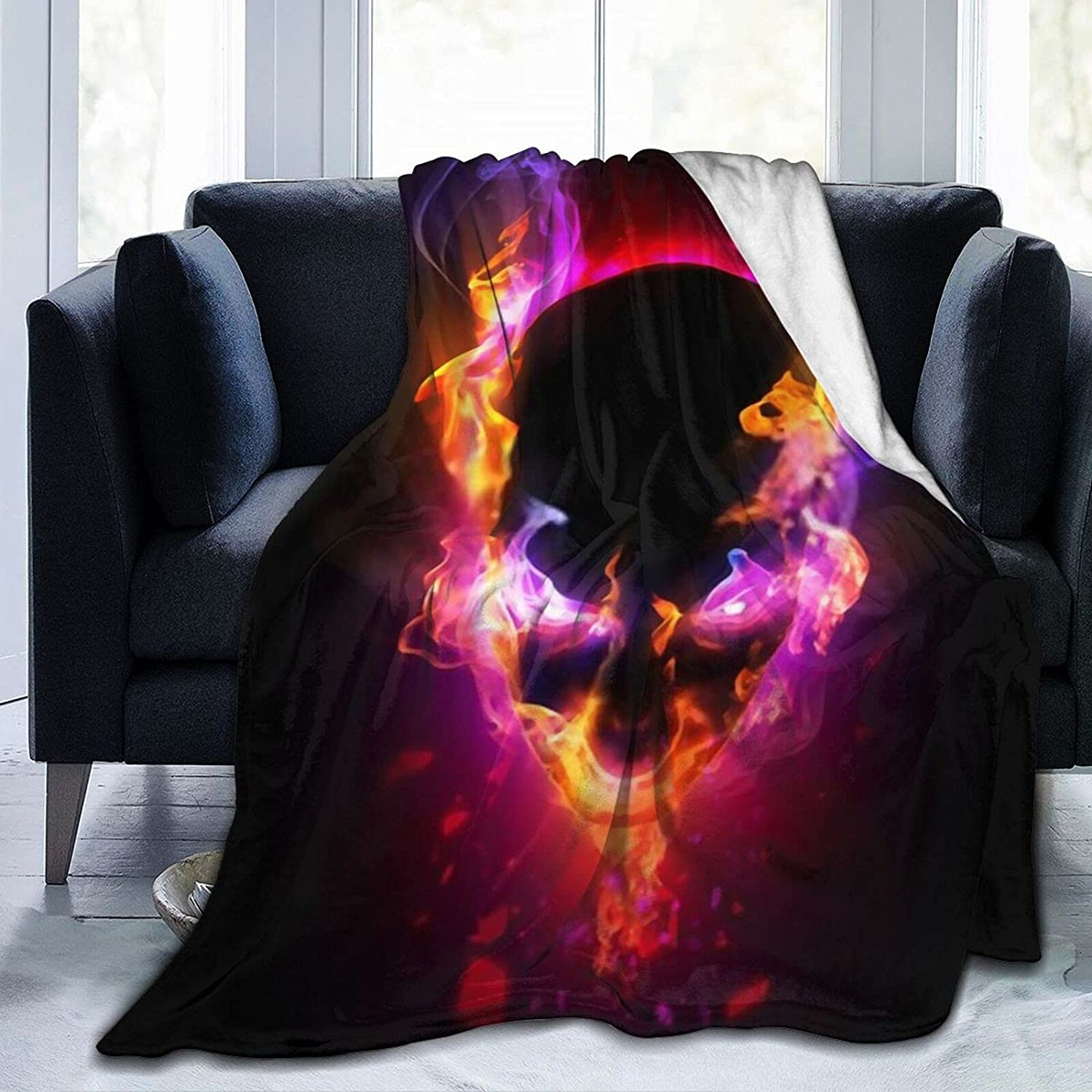 The Skeleton of Smoke3 Blanket Daily bargain sale M and Super ...