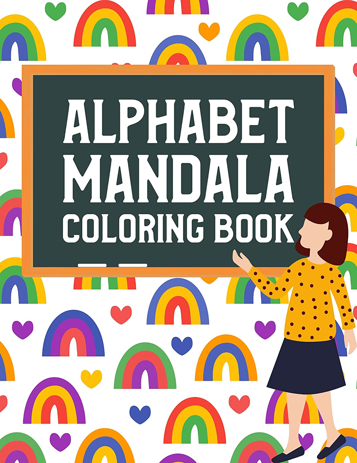 Alphabet Mandala Outstanding Coloring Book for Toddlers Children Kids G Boys 1 year warranty