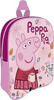 PP12884 Mochila de 28x22.5x7cm de EONE-Peppa Pig