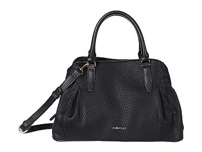 Fiorelli Erika Convertible Crossbody (Black) Handbags