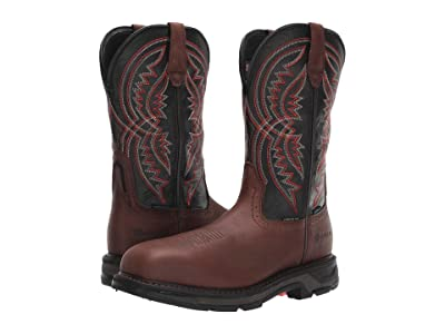 Ariat WorkHog(r) XT Coil Wide Square Toe H2O Carbon Toe (Briar Brown/Black) Men