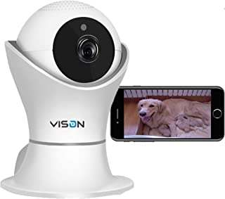 VINSION 1080p Wireless WiFi IP Camera with 3D Navigation Panorama, Home Security Surveillance Video Camera for Baby/Elder/...