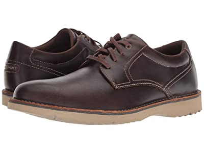 Rockport Cabot Plain Toe (Beeswax Leather) Men