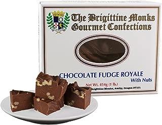 Brigittine Monks Chocolate Fudge Royale with nuts 1 lb