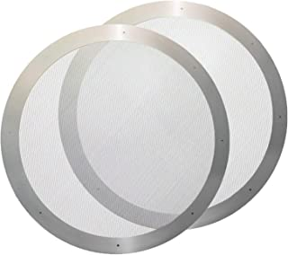 TOOGOO 2 Coffee Metal Filter - Reusable Stainless Steel Filter for Aeropress Coffee Maker